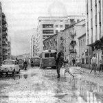 Avenida de Dilar antigua. A la izquierda, Calle Santa Clara. Zaidin. Granada