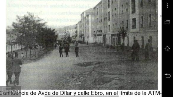 Avenida de Dilar antigua. Calle Ebro. Zaidin. Granada