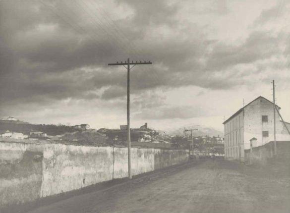 Avenida de Madrid en 1930