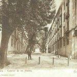 Avenida de Washington Irving, en la Alhambra, fue conocida también como la avenida de los Hoteles,