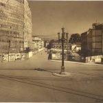 Calle Angel Ganivet con el edificio de correos aún por construir. Granada