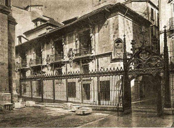 Calle Oficios en el 1927. Granada