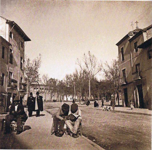 Calle San Juan de Dios en 1904