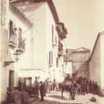 Calle San Juan de los Reyes, 1885-1890.