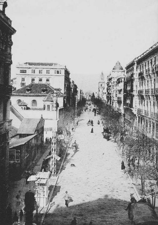 El cine Lux Edén Granada en 1910