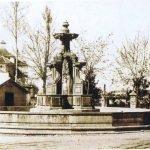 Fuente de las Batallas en principio conocida como Fuente de la Reina en el Paseo del Salón en los años 20
