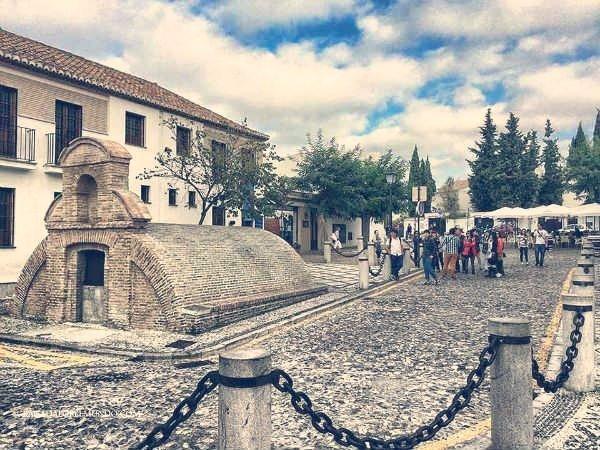 Aljibe del Mirador de San Nicolás.