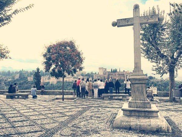 Plaza del Mirador de San Nicolás Granada