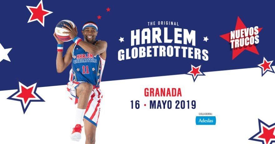 Harlem Globetrotters en Granada 2019