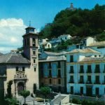 Iglesia y plaza de Santa Ana. Granada