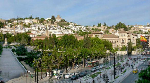 Jardínes del Triunfo Granada