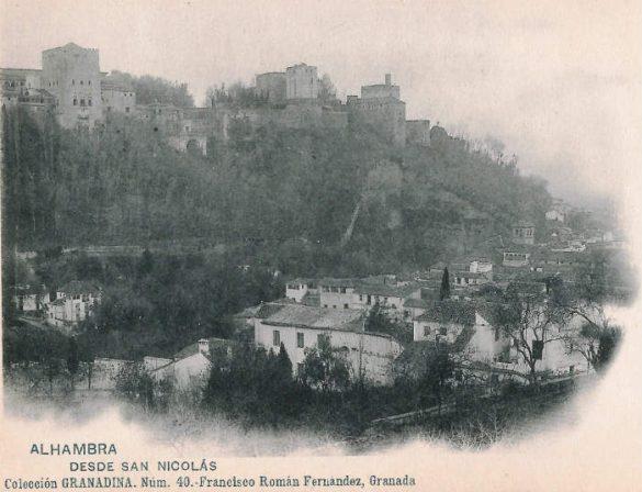 La Alhambra desde las casas del Chapiz