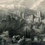 La Alhambra vista desde el Albaicín-Tourist in Spain-Granada-1835-David
