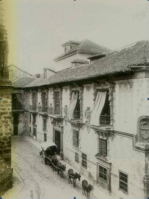 La Madraza hacia 1900