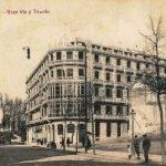 La casa del Americano. Gran Vía. Anterior a 1913