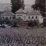 La casa del carillas con su campo de maiz. Granada