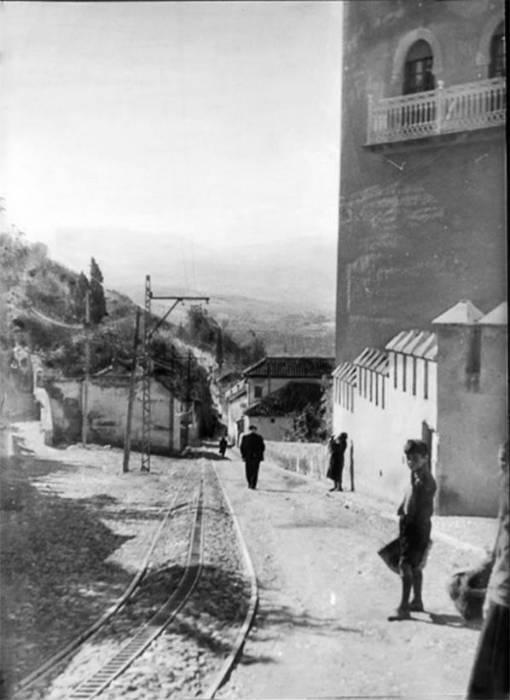 La cremallera. Antequeruela Bajo, Hotel Alhambra Palace Granada