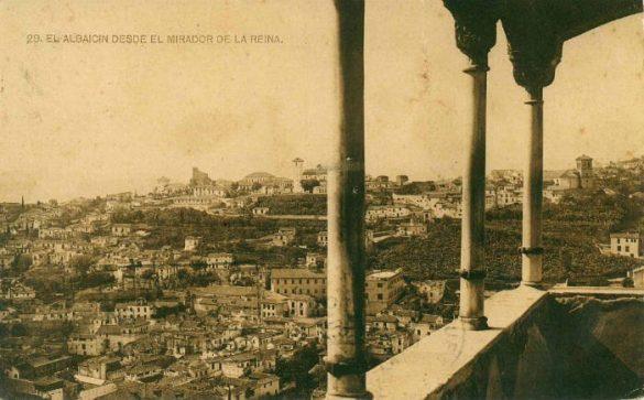 Mirador o Peinador de la Reina. Alhambra. Granada