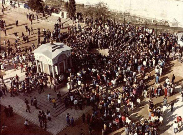 Monumento a la Constitucion en el Paseo del Violón. Ya desaparecido. Granada 2