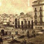 Obras previas a la apertura de la Calle Ganivet. 1940-41