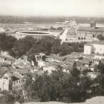 Panorámica de Granada desde el actual Tambor, bajo San Cristóbal