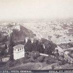 Panoramica de la ciudad y la Vega desde la Silla del Moro, 1885-1890.