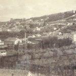 Paseo del Salon, Barrio del Realejo y Barranco del Abogado, Granada. 1885-1890.