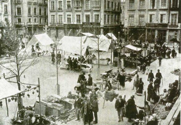 Plaza Bib Rambla posterior a 1910