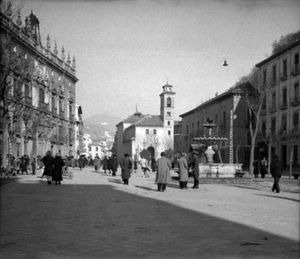 Plaza Nueva. Entre 1939 y 1959