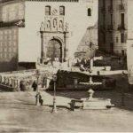 Plaza de Santa Ana. Foto antiquísima