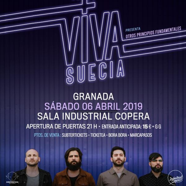 Viva Suecia - Industrial Copera (06/04/19)