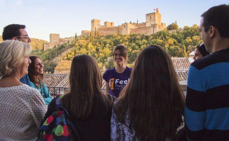Tour a pie por Albaicín y Sacromonte Granada