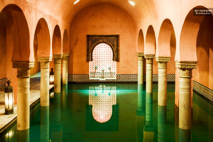 Aventura en un baño árabe hammam Granada