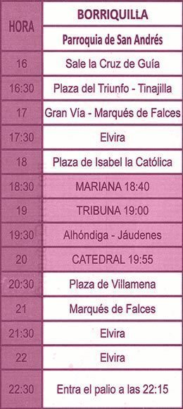Domingo de Ramos en Granada. La Borriquilla