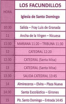 Domingo de Resurrección en Granada. Los Facundillos