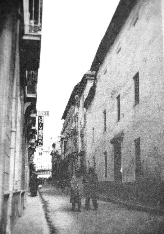 El beaterio de Santa María Egipciaca calle Recogidas Granada