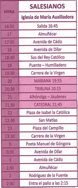 Jueves Santo Granada 2019 Los Salesianos