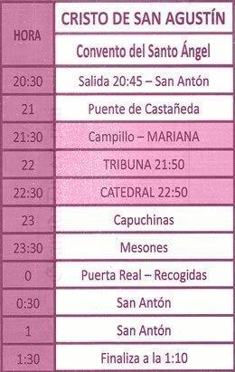 Lunes Santo Granada 2019 Cristo de San Agustin