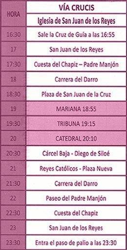 Martes Santo Granada 2019 Vía Crucis