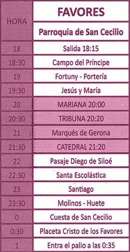 Viernes Santo Granada 2019 Los Favores