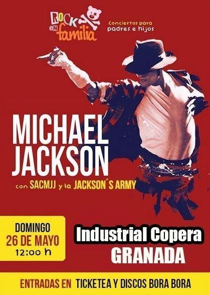 Descubriendo a Michael Jackson. rock en familia. Industrial copera granada