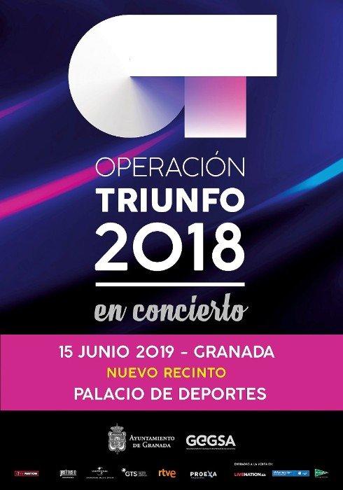 Operacion Triunfo 2018 2019 Palacio de Deportes Granada
