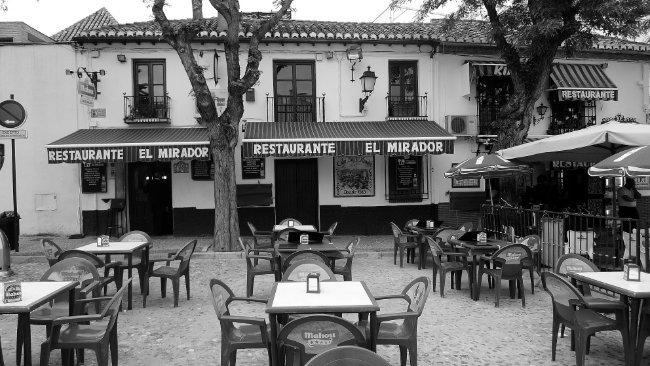 Restaurante El Mirador en el Albaicín