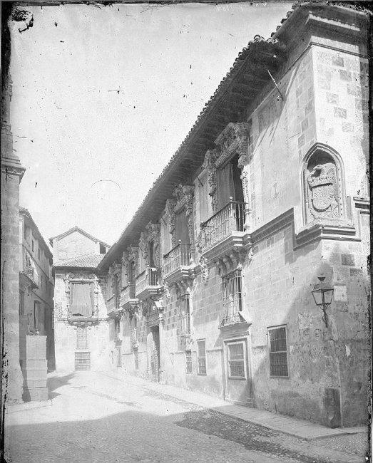 Calle Oficios en 1879. Granada