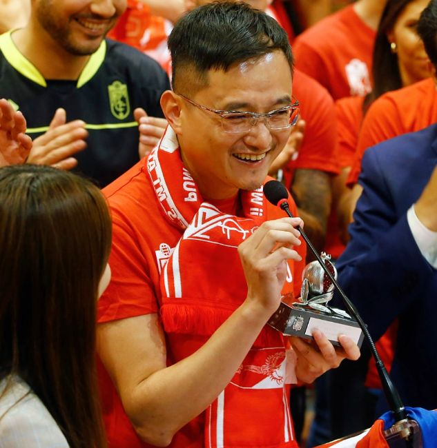 Jian Lizhang. Presidente del Granada CF