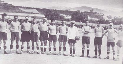 Primera Alineación del Granada CF