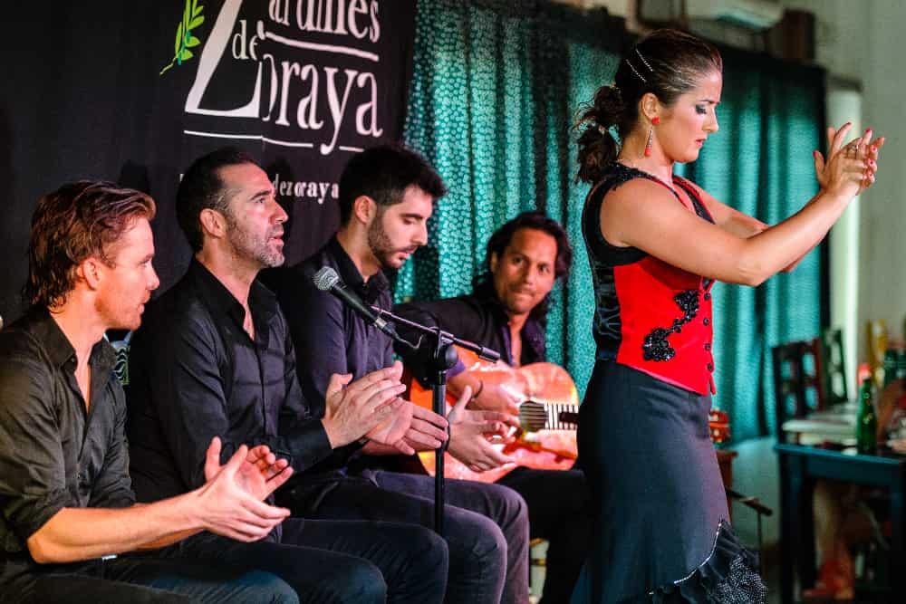 Tablao Flamenco Jardines de Zoraya Granada