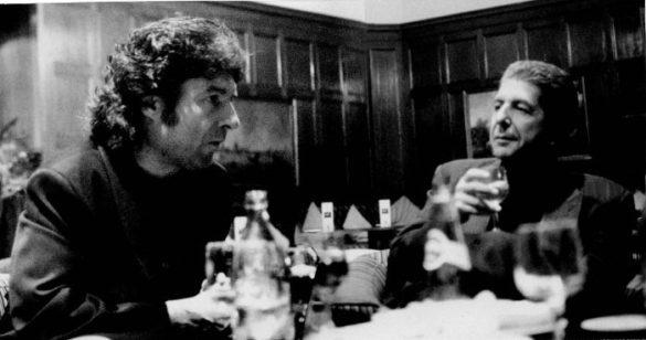 Enrique Morente junto a Leonard Cohen
