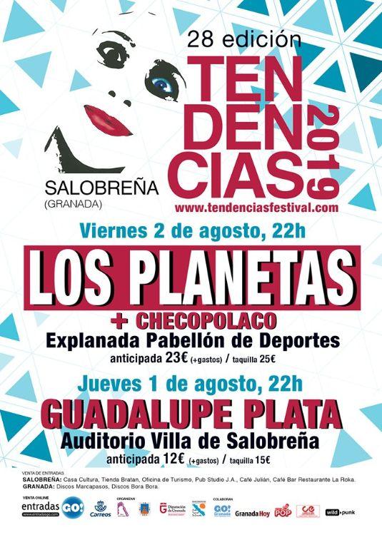 Festival Tendencias 2019 - Salobreña (01-02/08/19)