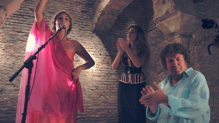 La familia Morente, en el Bañuelo | granadaimedia.com